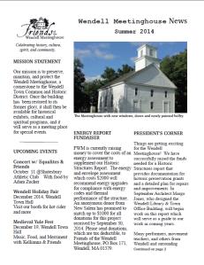 August Newsletter 2014 1